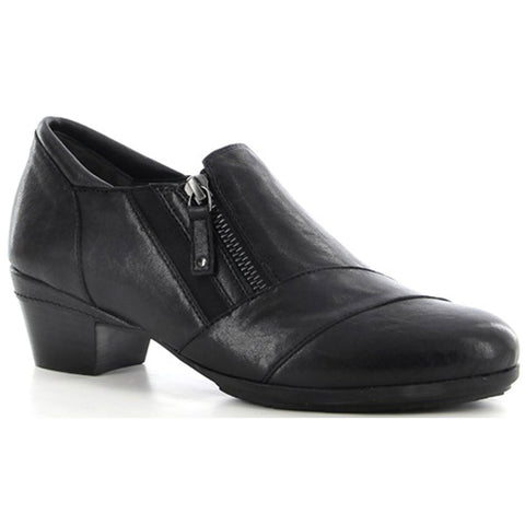Ziera Camden in Black Leather at Mar-Lou Shoes