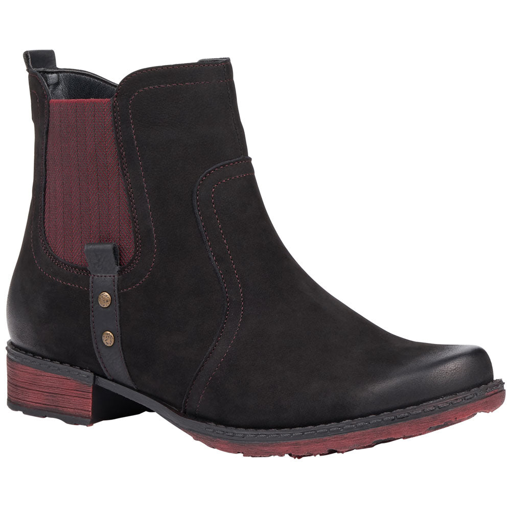 Remonte D4365 Chelsea Boot in Black Leather from Mar-Lou Shoes