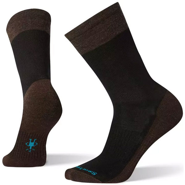 ECCO Men's Pressure-Free Nomad Crew Socks in Black at Mar-Lou Shoes