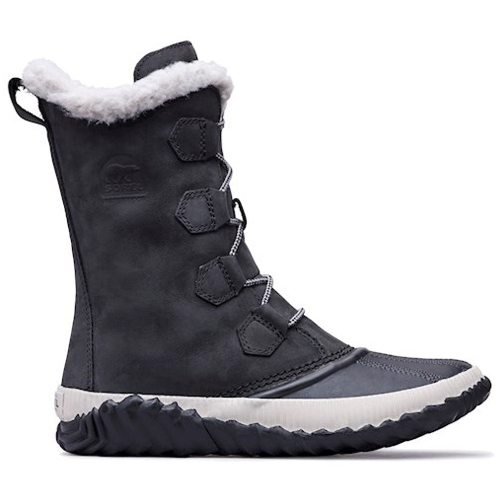 Sorel Out N About™ Plus Tall Waterproof Boot in Black at Mar-Lou Shoes