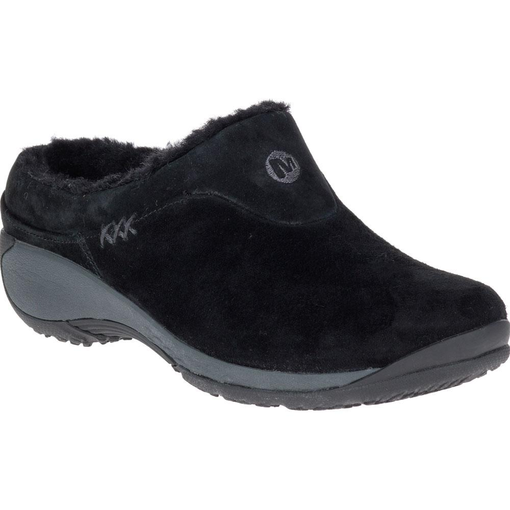 Merrell Women's Encore Q2 Ice in Black Suede at Mar-Lou Shoes