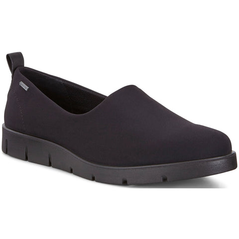 ECCO Bella Waterproof Slip-on GTX in Black at Mar-Lou Shoes