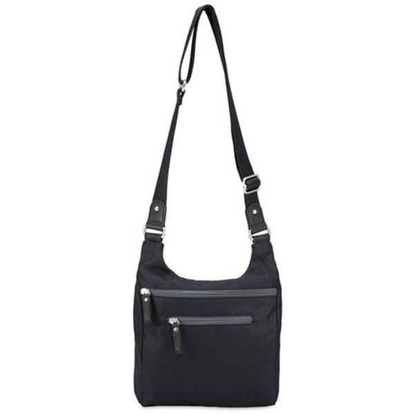 Osgoode Marley Small Crossbody in Black Nylon at Mar-Lou Shoes