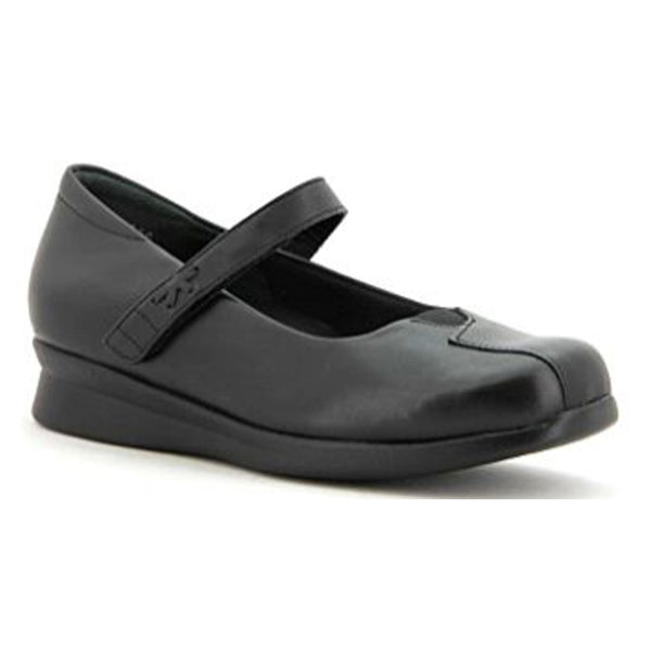 Ziera Women's Rhapsody Mary Jane Black Leather | Mar-Lou Shoes