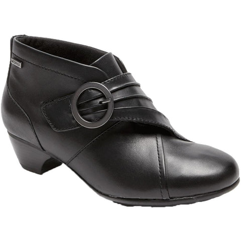 Aravon Peggy Waterproof Bootie in Black at Mar-Lou Shoes