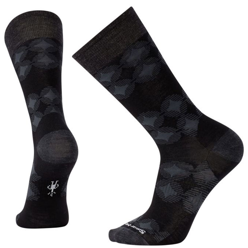 Men's Agano Crew Socks in Black