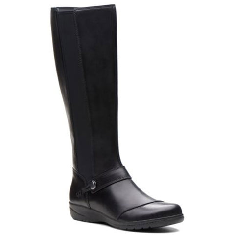 Cheyn Meryl Boots in Black Leather