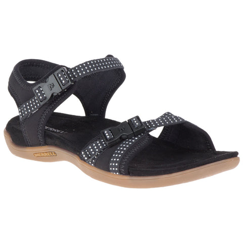 District Muri Sandal in Black