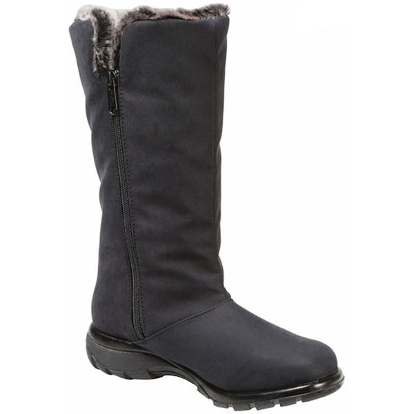 Toe Warmers Janet Waterproof Boot in Black at Mar-Lou Shoes