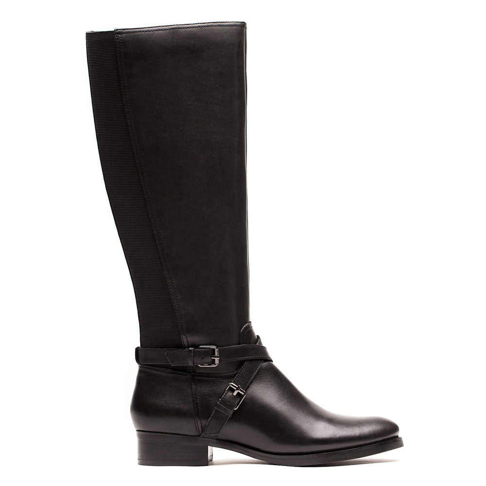 Annette 06 Boot in Black Leather