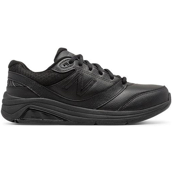 928v3 Men's Walking in Black Leather