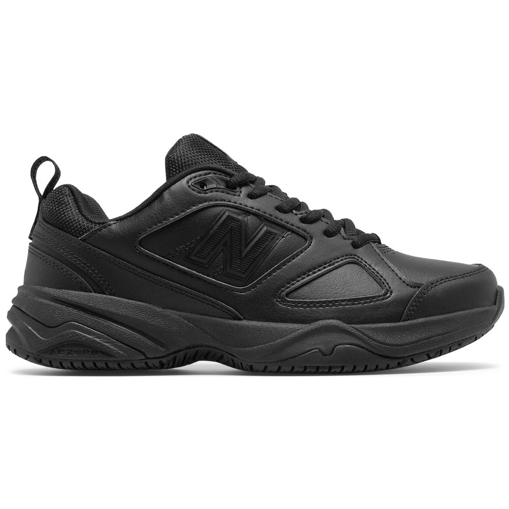 New Balance Women's 626v2 in Black Leather at Mar-Lou Shoes