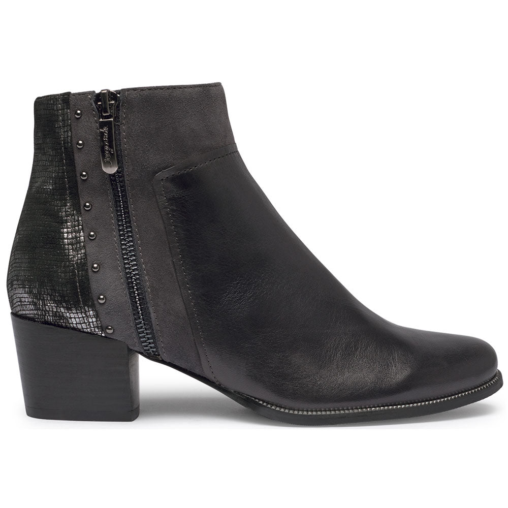 Isabel 65 Bootie in Pepper Leather