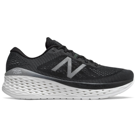New Balance Men's Fresh Foam More in Black with Orca at Mar-Lou Shoes