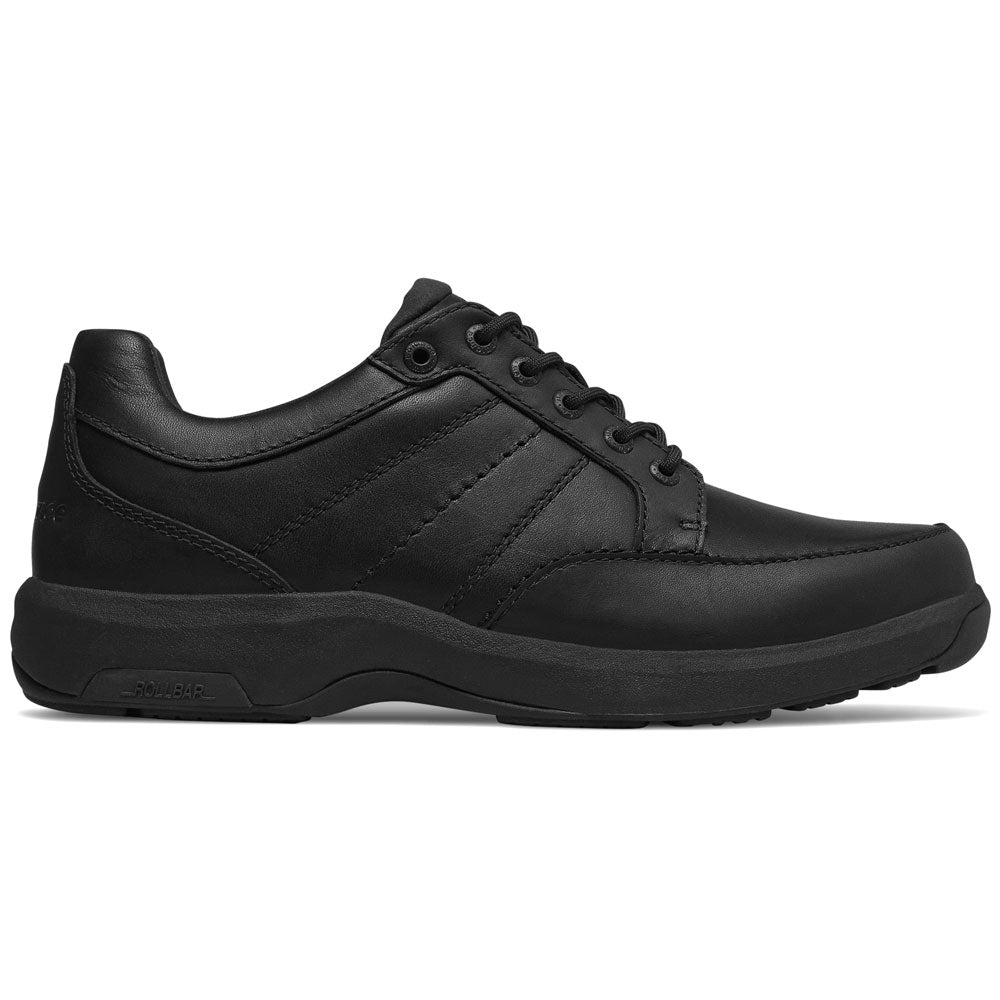 New Balance Men's MD1700 in Black Leather at Mar-Lou Shoes