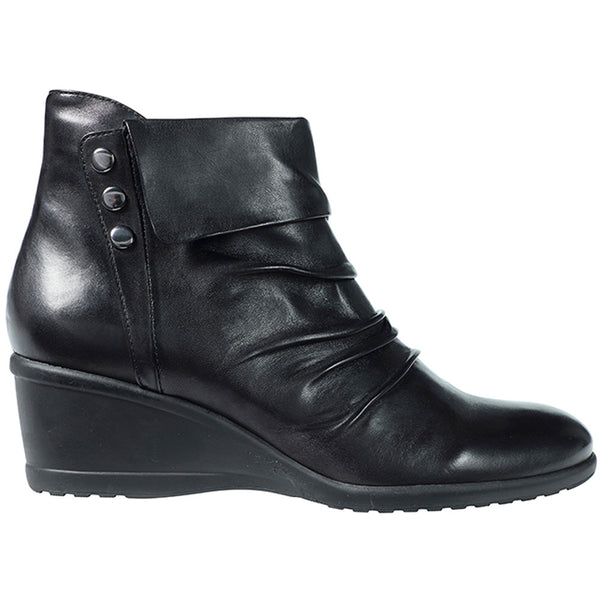 Regarde Daisy 08 Bootie in Black Leather at Mar-Lou Shoes