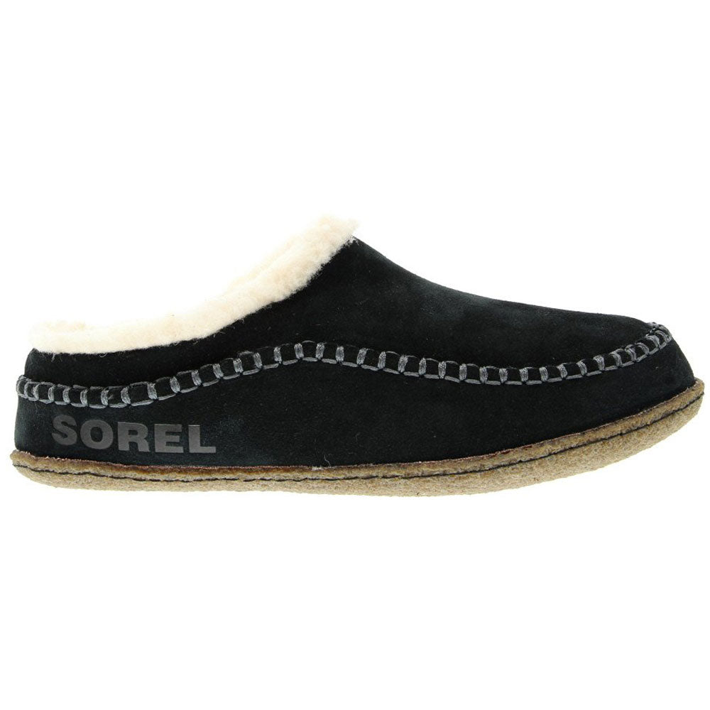 Sorel Falcon Ridge™ II Slipper in Black/Dark Stone at Mar-Lou Shoes