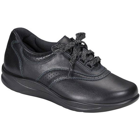 SAS Walk Easy in Black Leather at Mar-Lou Shoes