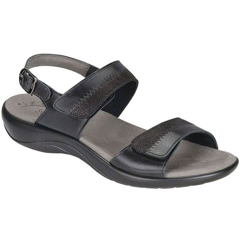 Nudu Sandal in Black Midnight