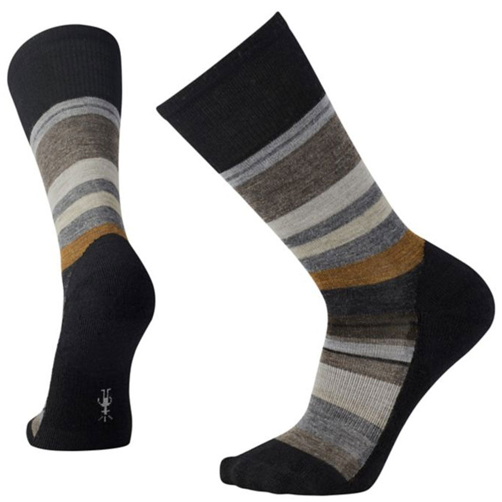 Men's Saturnsphere Socks in Black/White