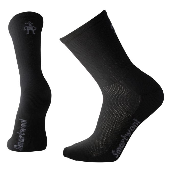 Men's Hike Ultra Light Crew Socks in Black