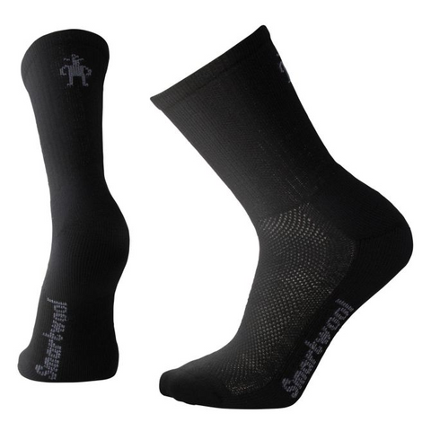 Hike Ultra Light Crew Socks in Black