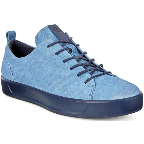 ECCO Women's Soft 8 Sneaker in Indigo 5 Leather at Mar-Lou Shoes