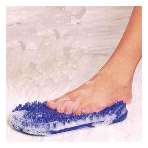 Soapy Soles Foot Scrubber and Massager in Blue