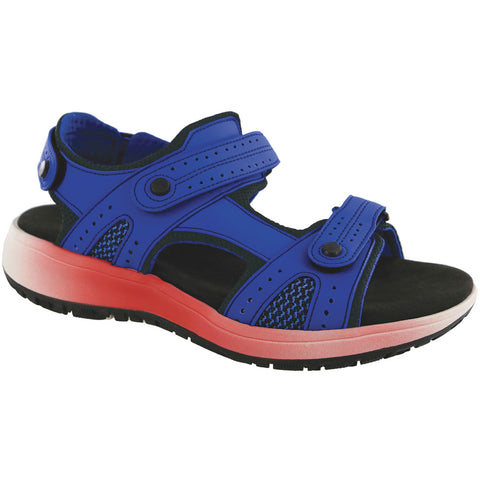 SAS Women's Embark Sandal in Cobalt Blue at Mar-Lou Shoes