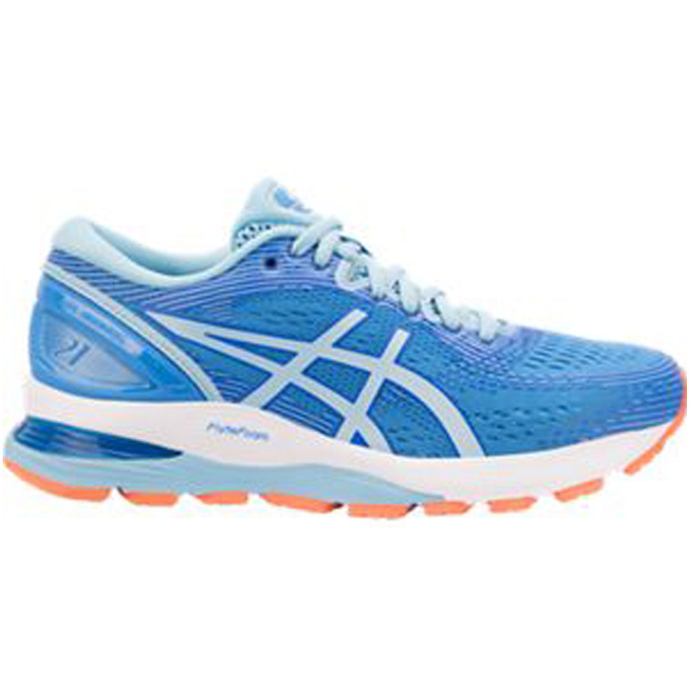 Women's GEL-Nimbus 21 in Blue Coast/Skylight