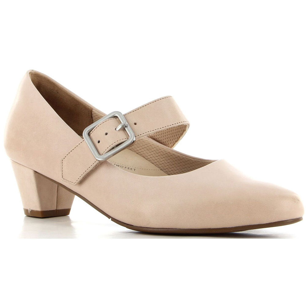 Valley in Blush Leather