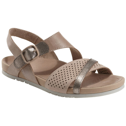 Linden Laguna Sandal in	Blush/Metal