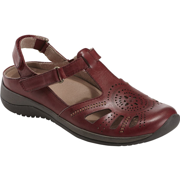 Kara Curie Sandal in Bordeaux