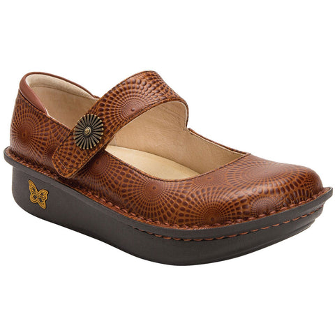 Alegria Paloma Mary Jane in Brandy at Mar-Lou Shoes