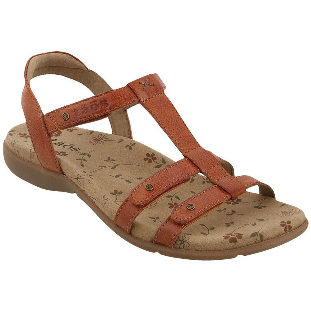 Trophy 2 Sandal in Brick Leather