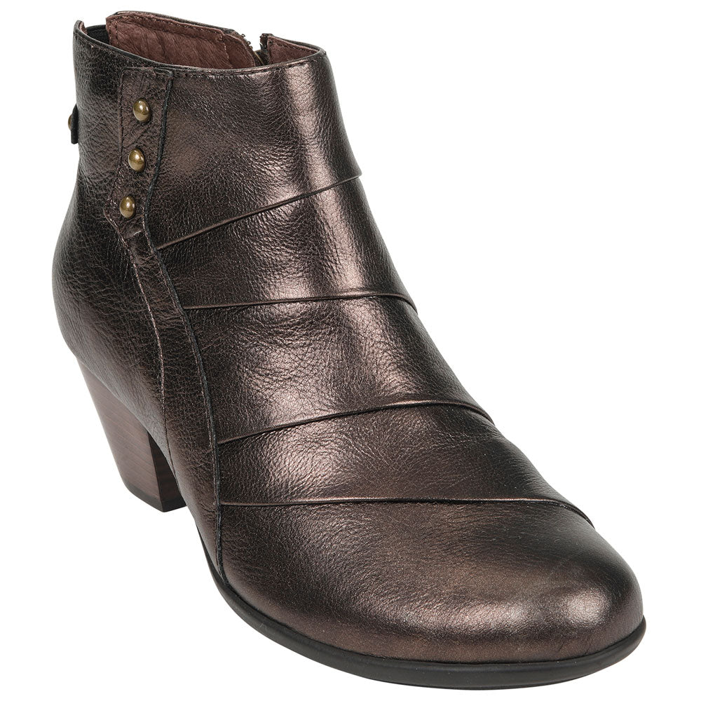 Hope Bootie in Bronze Leather