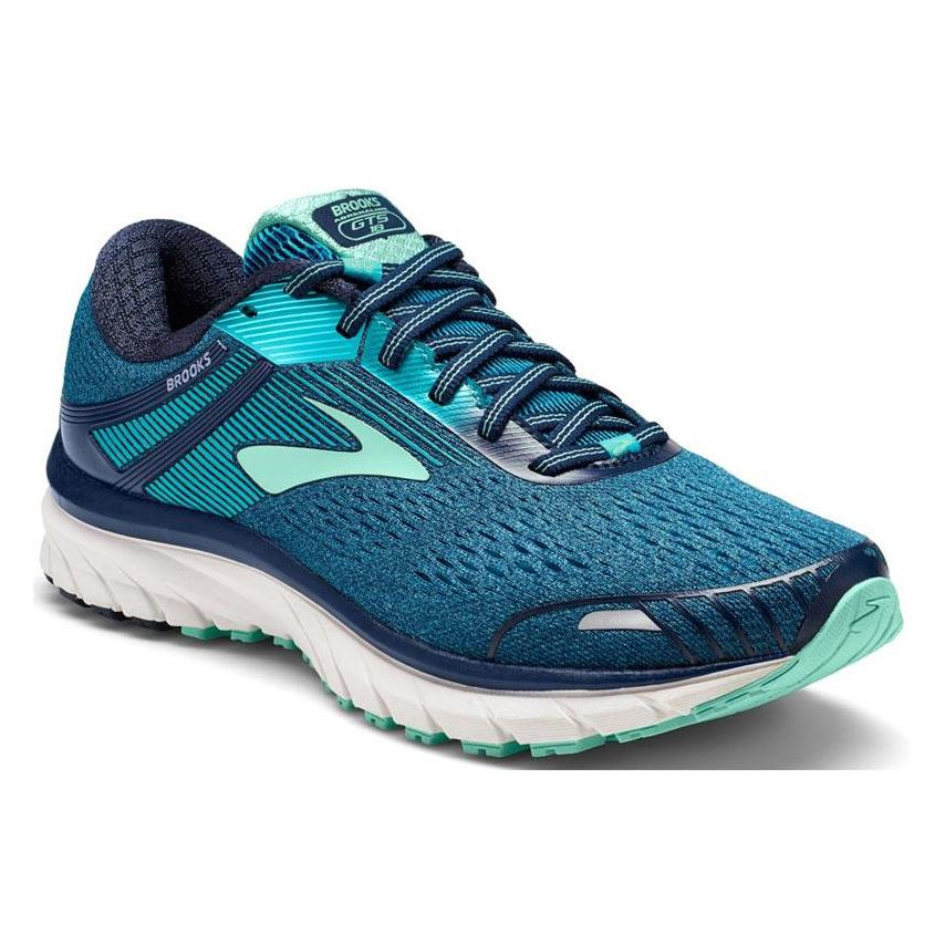 Women's Adrenaline GTS18 in Navy and Teal
