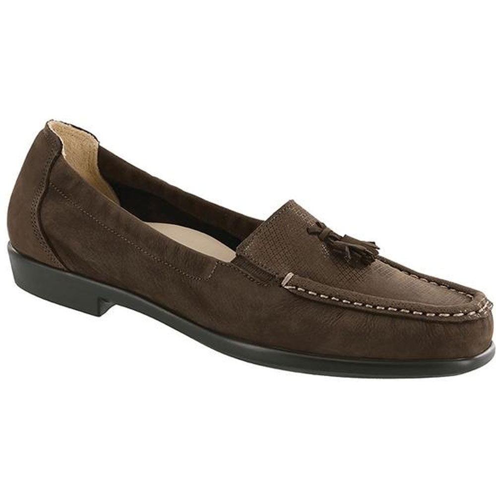 SAS Hope Loafer in Brown Turf at Mar-Lou Shoes