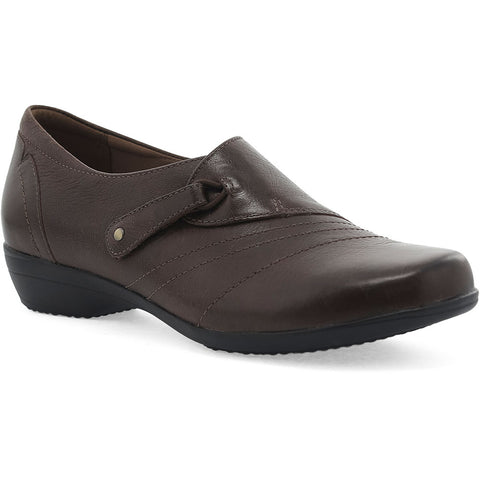 Franny in Chocolate Burnished Calf