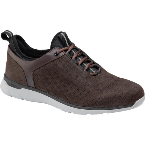 ECCO XC4® Prentiss U-Throat in Chocolate Waterproof Leather at Mar-Lou Shoes