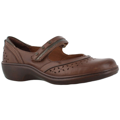 Avavon Dolly Mary Jane in Dark Brown at Mar-Lou Shoes