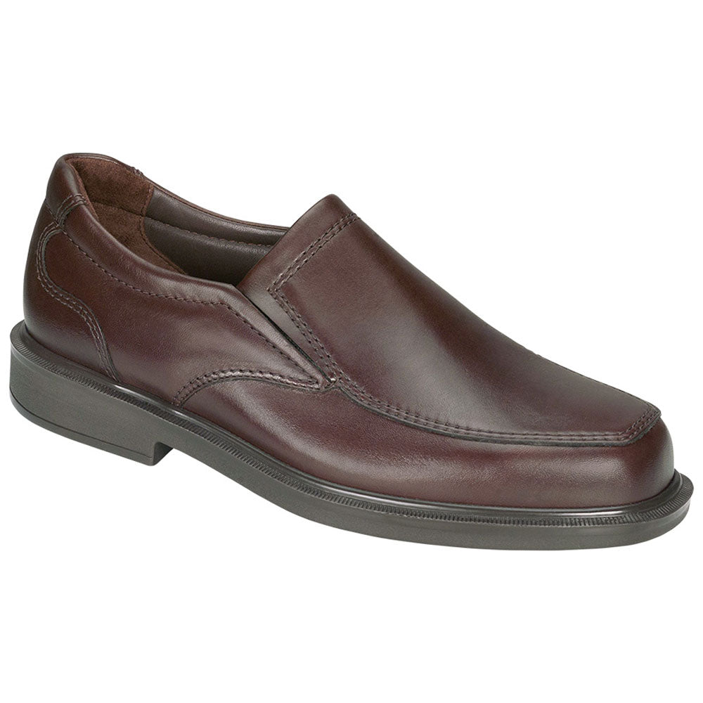 SAS Diplomat Loafer in Brown Leather at Mar-Lou Shoes