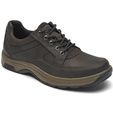 Midland Waterproof Oxford in Brown Nubuck from Dunham found at Mar-Lou Shoes