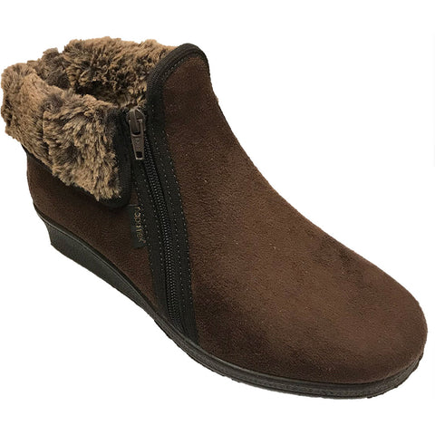 Cuff Nova Sue Boot in Brown