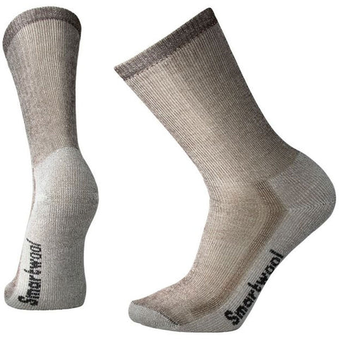 Hike Medium Crew Socks in Dark Brown