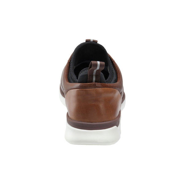 XC4® Prentiss Plain Toe in Mahogany Waterproof Full Grain Leather