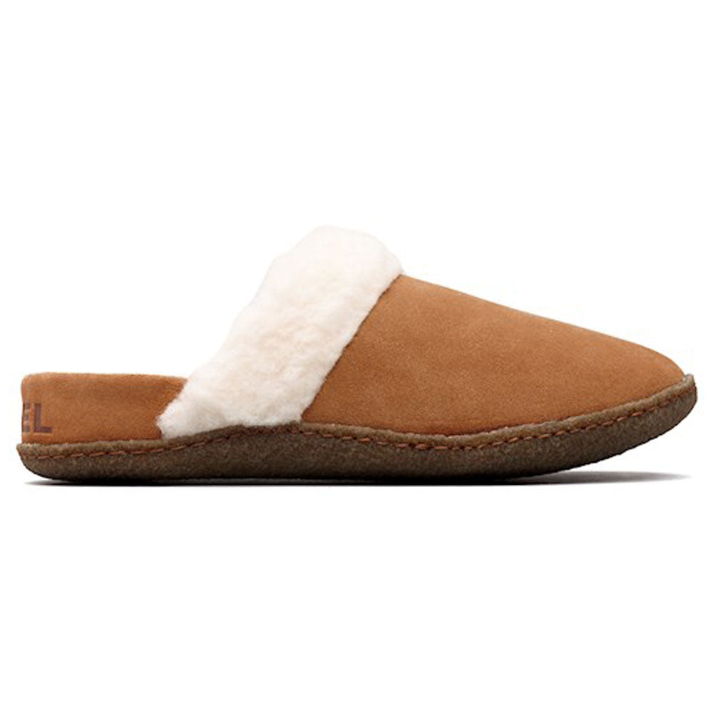 Nakiska™ Slide II Slipper in Camel Brown Suede