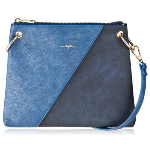 Carrie Crossbody Purse in Blue