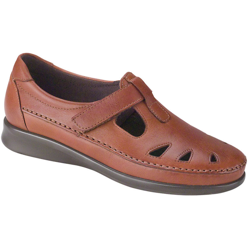 SAS Roamer in Chestnut Leather at Mar-Lou Shoes
