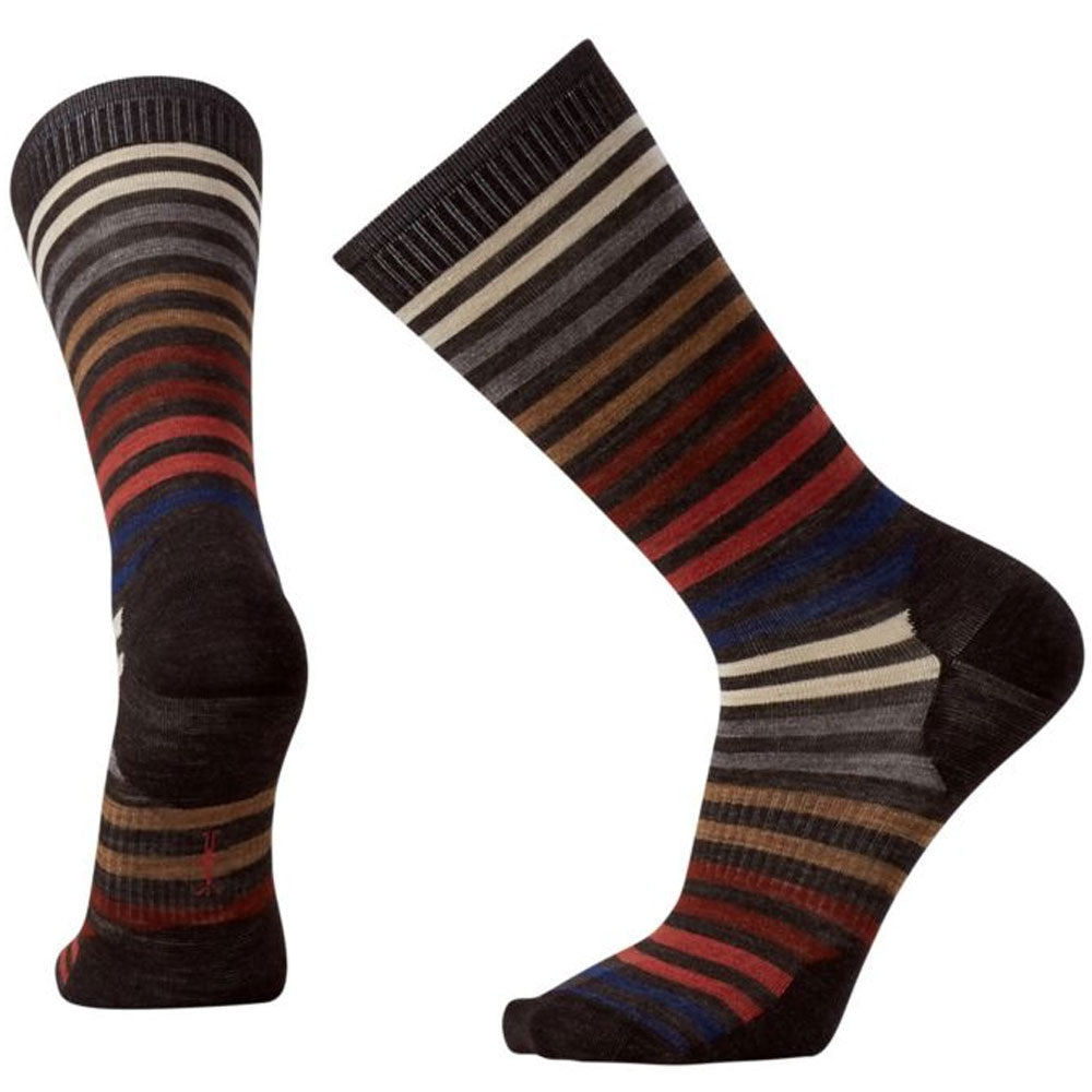Men's Spruce Street Crew Socks in Chestnut